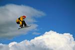 Snowboarder Cardrona Alpine Resort mural