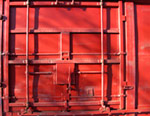 Red Door mural