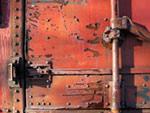 Rusted Door mural