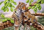 Leopard  Cub mural