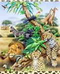 Serengeti mural