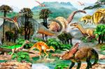 Dinoscape mural