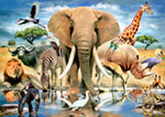 African Oasis mural