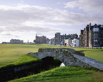 St Andrews Old Course 18 mural