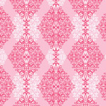 Diamond Damask - Pink