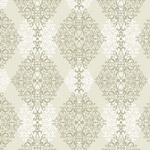 Diamond Damask - Taupe