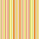 Simple Stripe - Pink Orange