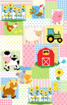 Farm Friends Patchwork
