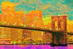 Brooklyn Bridge Spence mural