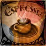 Espresso mural