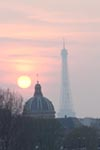 Paris Sunset I