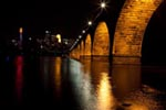 Stone Arch Bridge mural