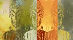 Buddhas 3 mural