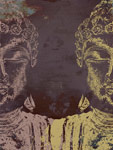 Buddha-Purple mural