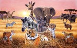 Safari 2 mural