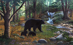 Early Morning Black Bears mural