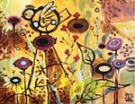 Deep Garden mural