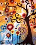 June Tree mural