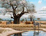 The Watering Hole mural