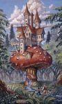 The Mushroom Inn mural