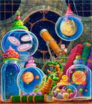 Universe In A Jar mural