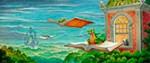 Adventures in Reading mural
