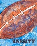 Vintage Football mural