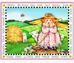 Little Bo Peep mural