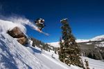 Catching Air In Monarch Pass