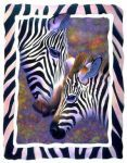 Zebra Love mural