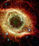 Infrared Helix Nebula mural