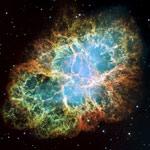 Crab Nebula mural