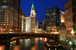 Chicago River-Night
