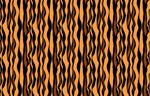 Tiger Print mural