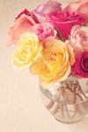 Bouquet mural