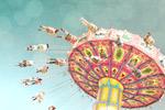Swing Ride mural