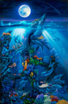 Dolphin Reef Miller mural
