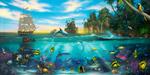 Paradise Found mural