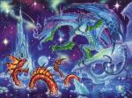 Ice Dragon 3 mural
