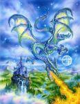 Dragonfire mural