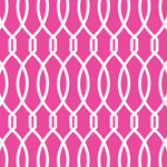 Trellis - Hot Pink mural