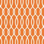 Trellis - Orange mural