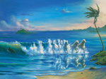 Galloping Waves mural