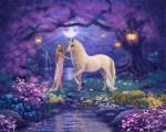Unicorn Garden 1 mural