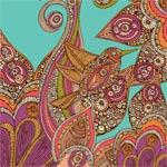 Bird in Paradise mural