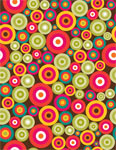 Circle Pattern mural