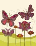 Butterflies Ramos mural