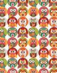 Owls Family mural