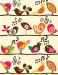 Singing Birds mural