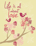 Life Is All About Love mural